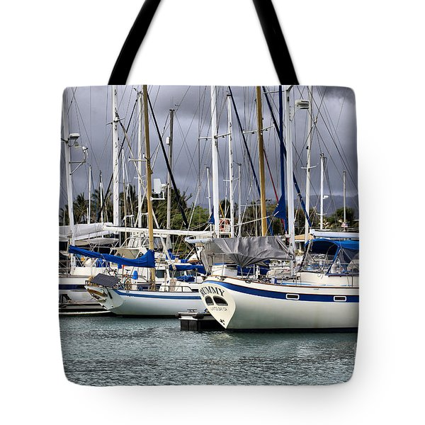 In the Harbor Tote Bag by Cheryl Young