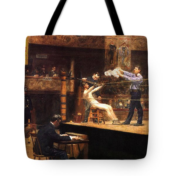 In The Mid Time Tote Bag by Thomas Eakins