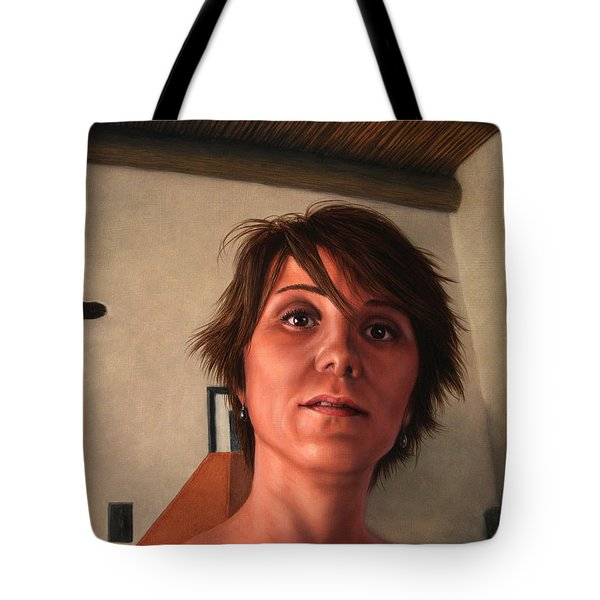 Indian Lodge Tote Bag by James W Johnson