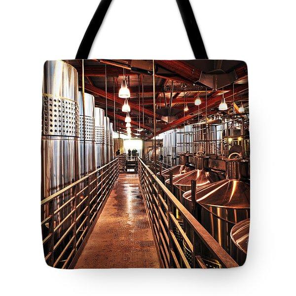 Inside Winery Tote Bag by Elena Elisseeva