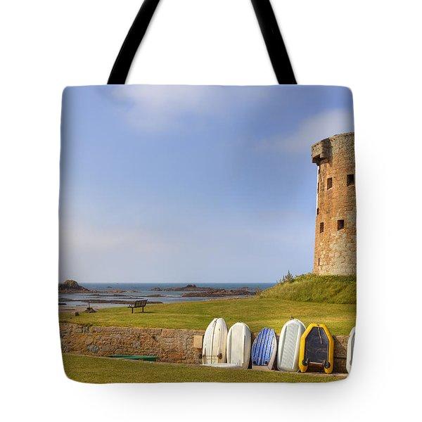 Jersey - Le Hocq Tote Bag by Joana Kruse