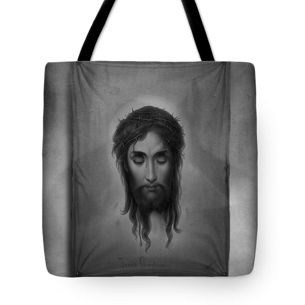 Jesus Christus Tote Bag by Edward Fielding