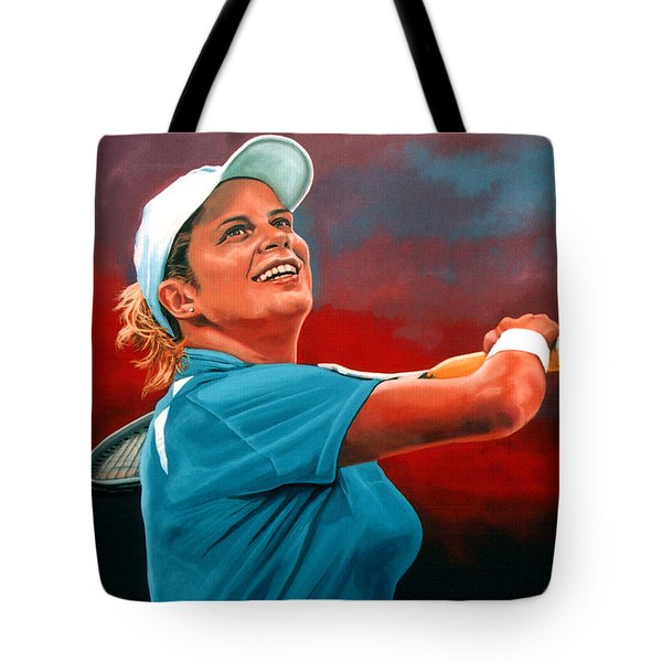 Kim Clijsters Tote Bag by Paul Meijering