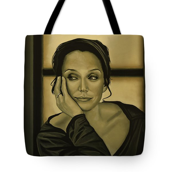 Kristin Scott Thomas Tote Bag by Paul  Meijering