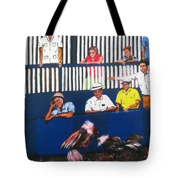 La Gallera Tote Bag by Luis F Rodriguez