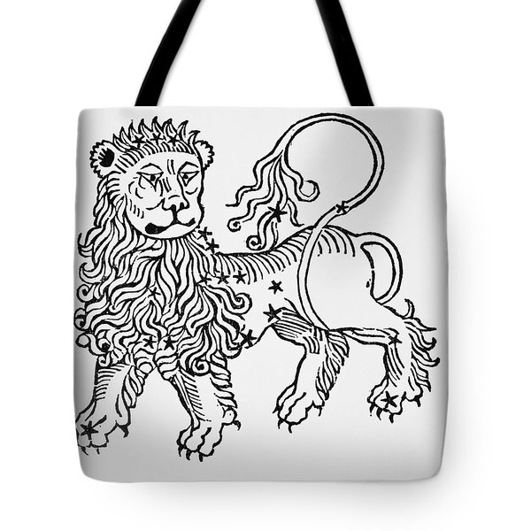 Leo An Illustration From The Poeticon Tote Bag by Italian School