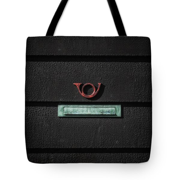 letter box Tote Bag by Joana Kruse