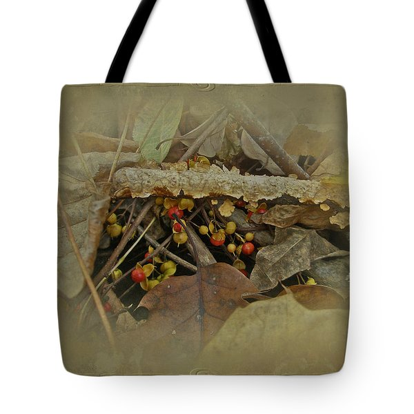 Life Is Bittersweet Tote Bag by Mother Nature