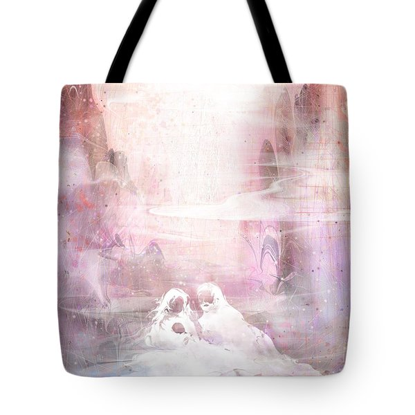 Light Of The World Tote Bag by Rachel Christine Nowicki