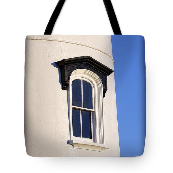 Lighthouse Window Tote Bag by John Greim