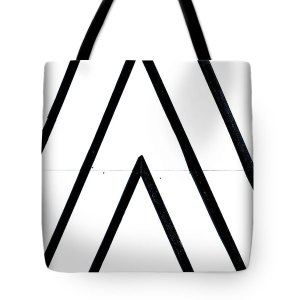 Lines Tote Bag by A Rey