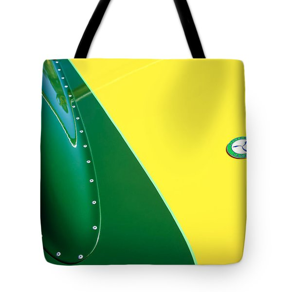 Lister Hood Emblem Tote Bag by Jill Reger
