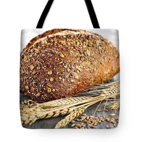 Loaf Of Multigrain Bread Tote Bag by Elena Elisseeva