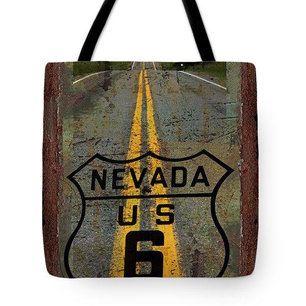 Lost Highway Tote Bag by John Stephens