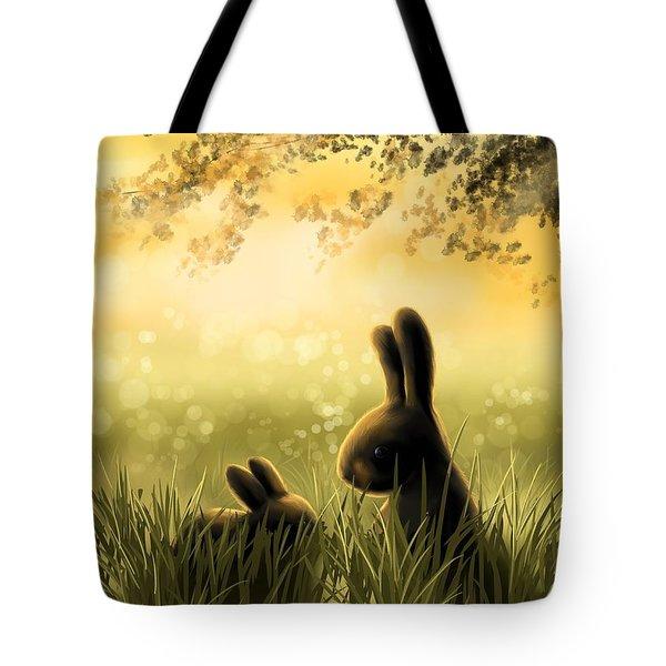 Love Tote Bag by Veronica Minozzi