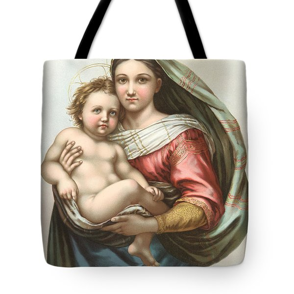 Madonna And Child Tote Bag by Gary Grayson