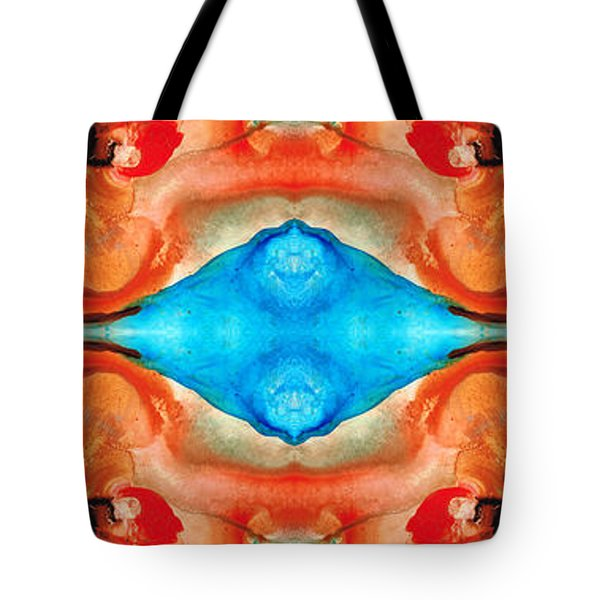 Magic Mirror - Abstract Art By Sharon Cummings Tote Bag by Sharon Cummings