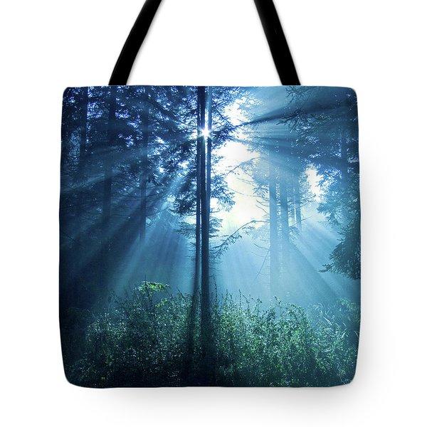 Magical Light Tote Bag by Daniel Csoka