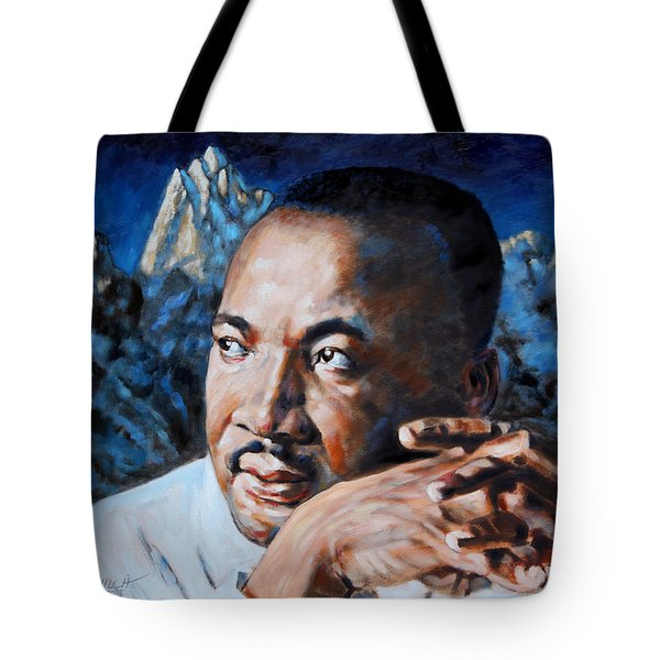 Martin Luther King Tote Bag by John Lautermilch