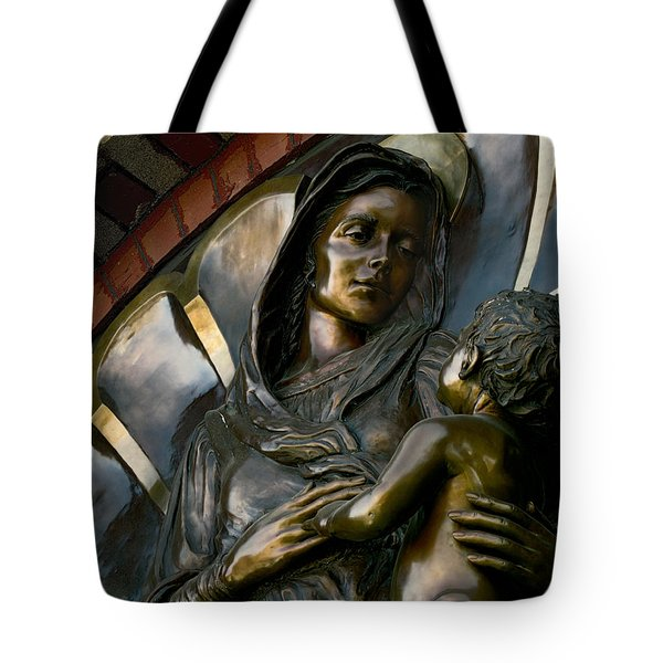 Mary And Jesus Tote Bag by Daniel Hagerman