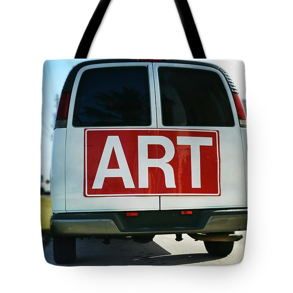 meeting warhol Tote Bag by Laura  Fasulo