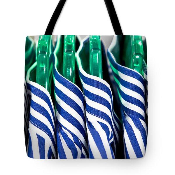 men's shirts Tote Bag by Tom Gowanlock