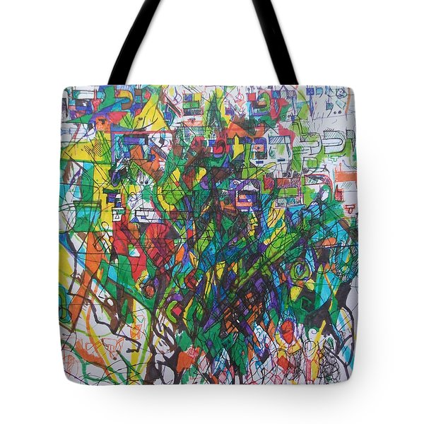 Meriting The Multitudes Tote Bag by David Baruch Wolk