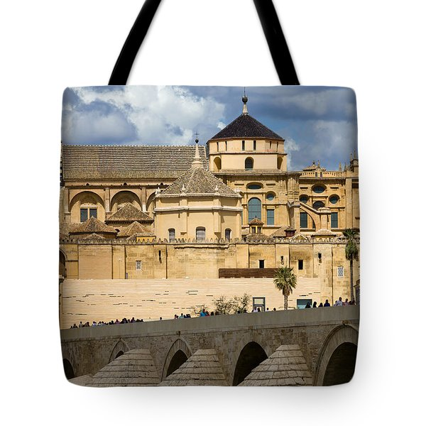 Mezquita Cathedral in Cordoba Tote Bag by Artur Bogacki