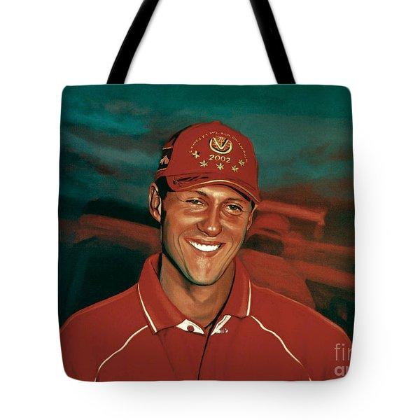 Michael Schumacher Tote Bag by Paul Meijering