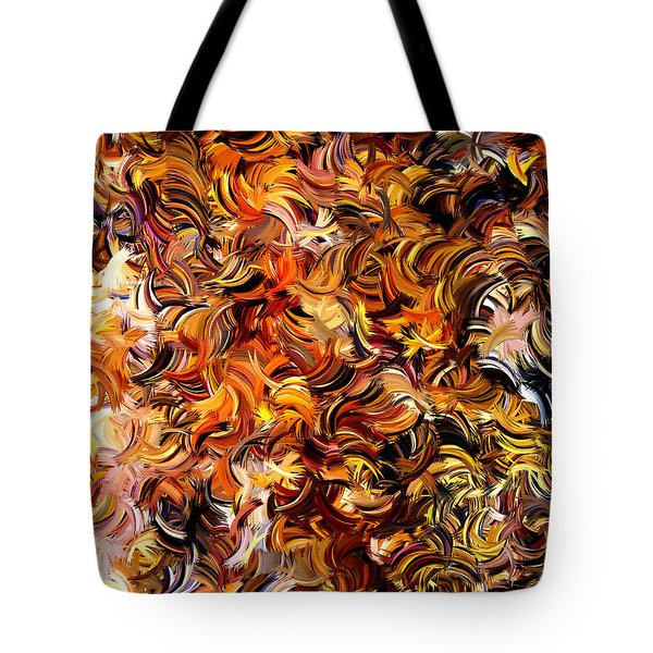 Modern Abstract Xxv Tote Bag by Lourry Legarde