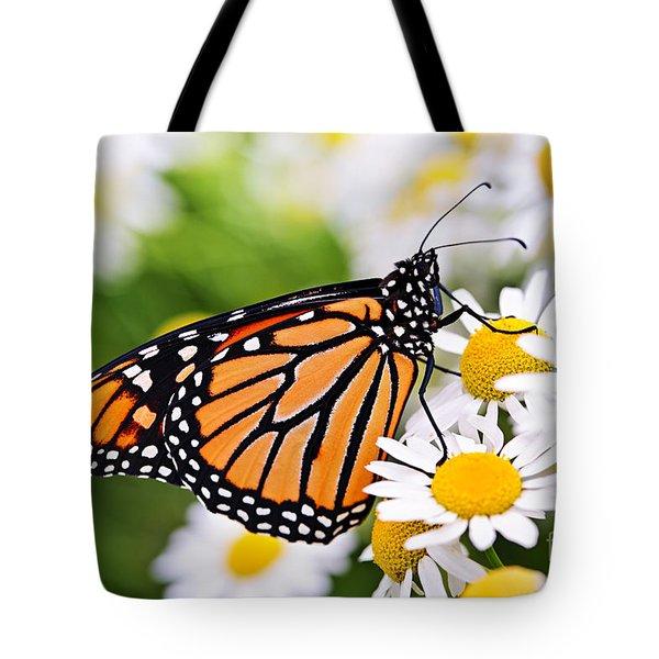 Monarch butterfly Tote Bag by Elena Elisseeva