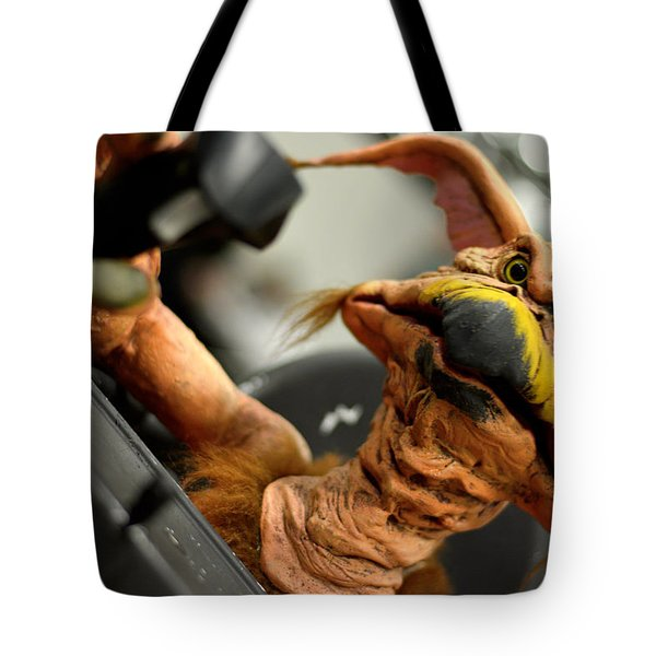 Monster Salacious Crumbes Tote Bag by Toppart Sweden