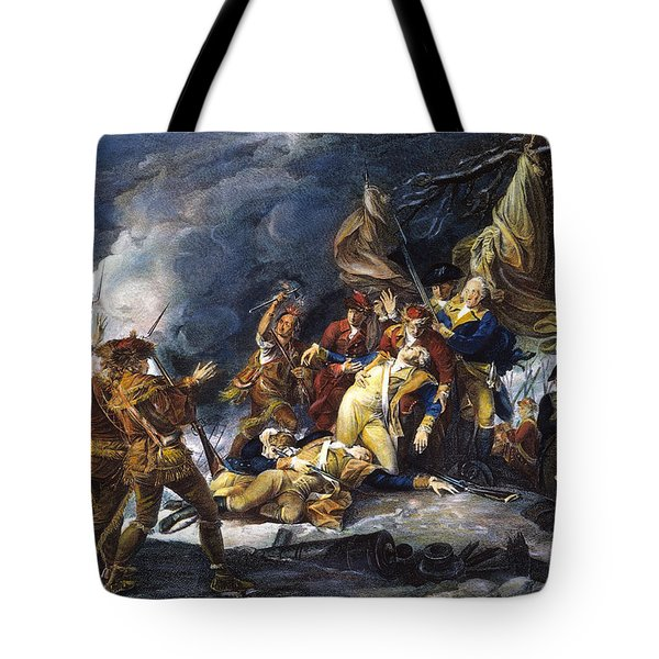 Montgomerys Death, 1775 Tote Bag by Granger