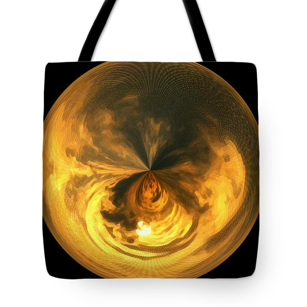 Morphed Art Globe 7 Tote Bag by Rhonda Barrett