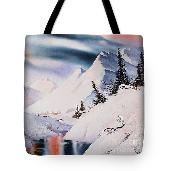 Mountain Majesty Tote Bag by Teresa Ascone