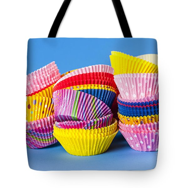 Muffin Cups Tote Bag by Elena Elisseeva