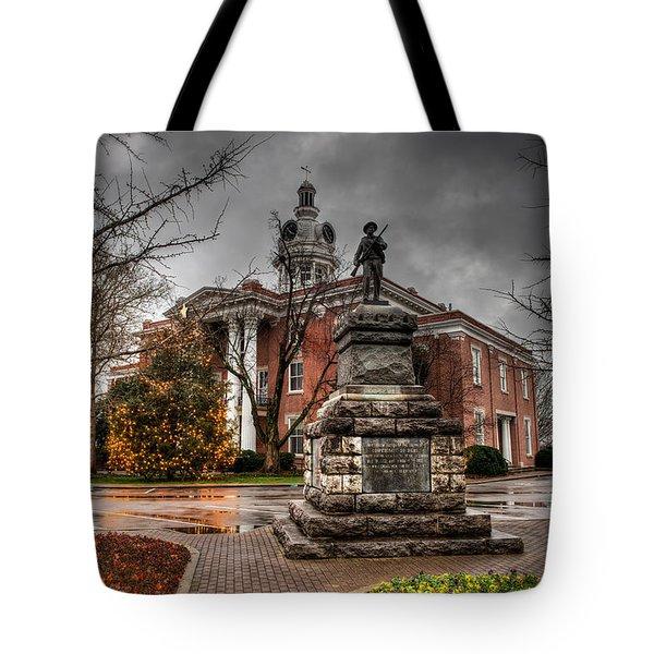 Murfreesboro Town Hall Tote Bag by Brett Engle