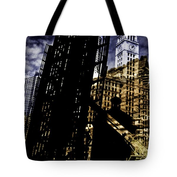 My Two Worlds Spires Tote Bag by Paul Shefferly