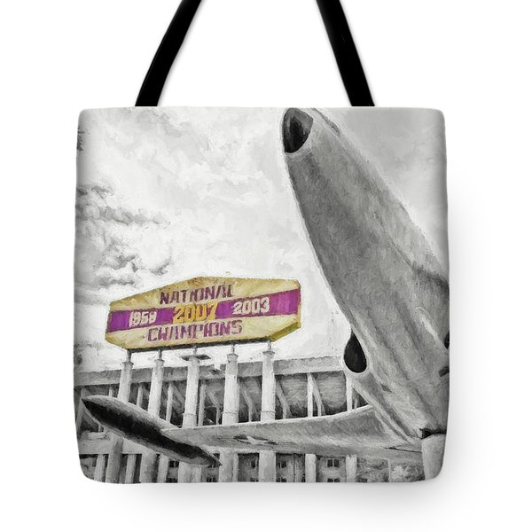 National Champions Tote Bag by Scott Pellegrin