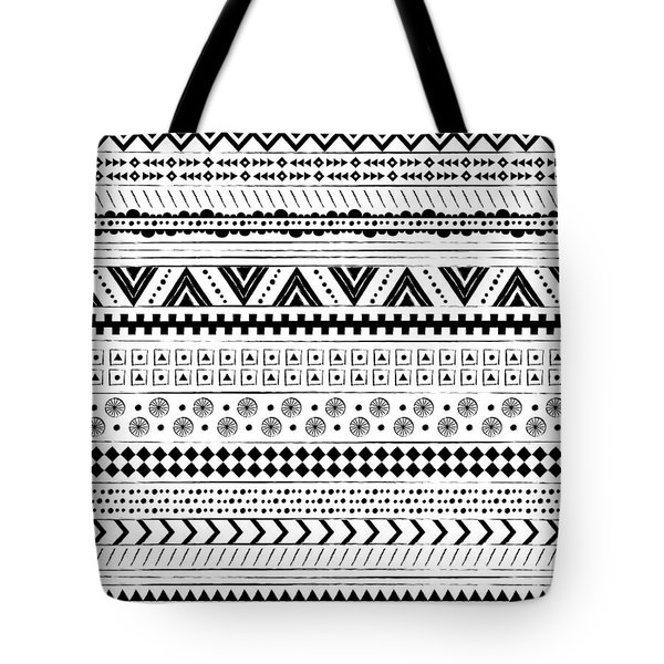Navajo Surf Repeat Print Tote Bag by Susan Claire