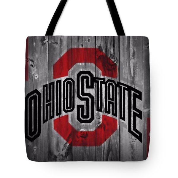 Ohio State Buckeyes Tote Bag by Dan Sproul