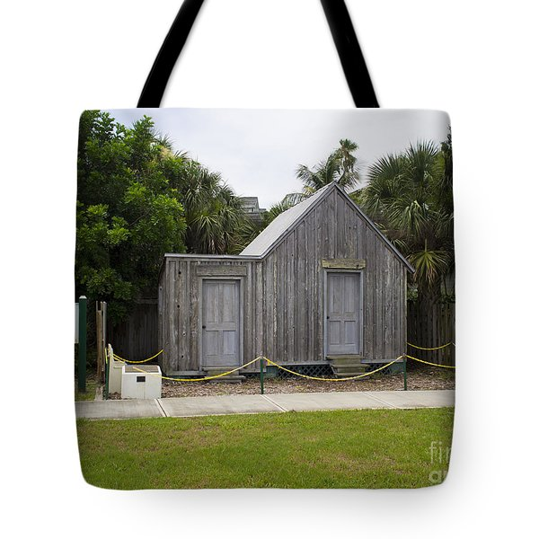 Old Post Office in Melbourne Beach Tote Bag by Allan  Hughes