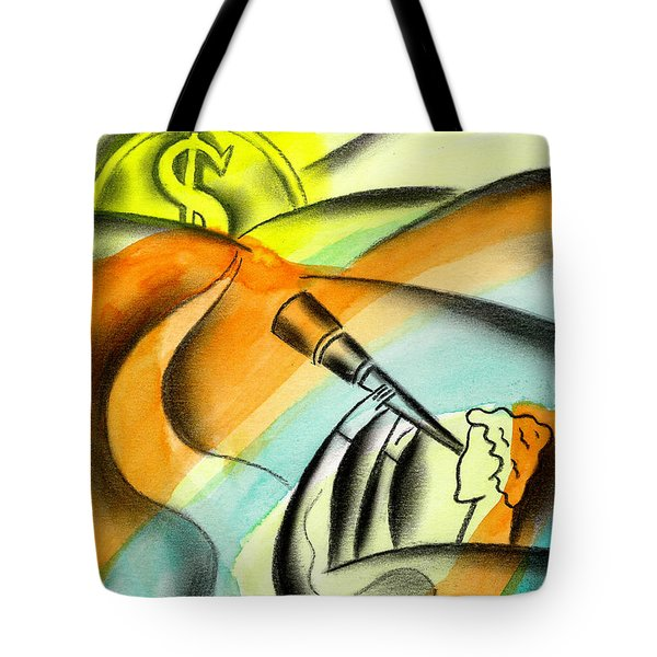 Opportunity Tote Bag by Leon Zernitsky