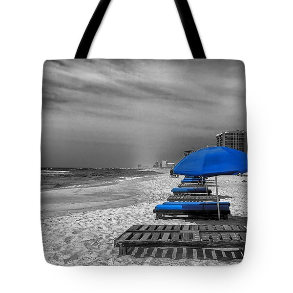 Orange Beach in Alabama Tote Bag by Mountain Dreams