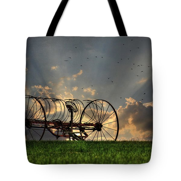 Out To Pasture Tote Bag by Lori Deiter