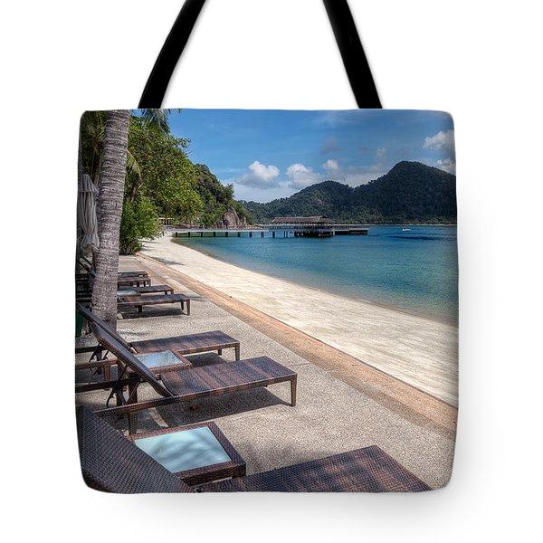 Pangkor Laut Tote Bag by Adrian Evans