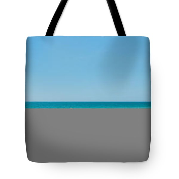 People On The Beach, Venice Beach, Gulf Tote Bag by Panoramic Images