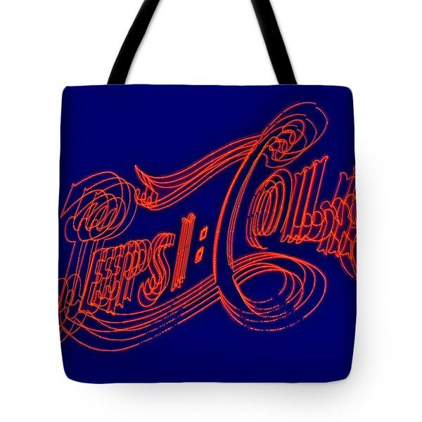 Pepsi Cola Tote Bag by Susan Candelario