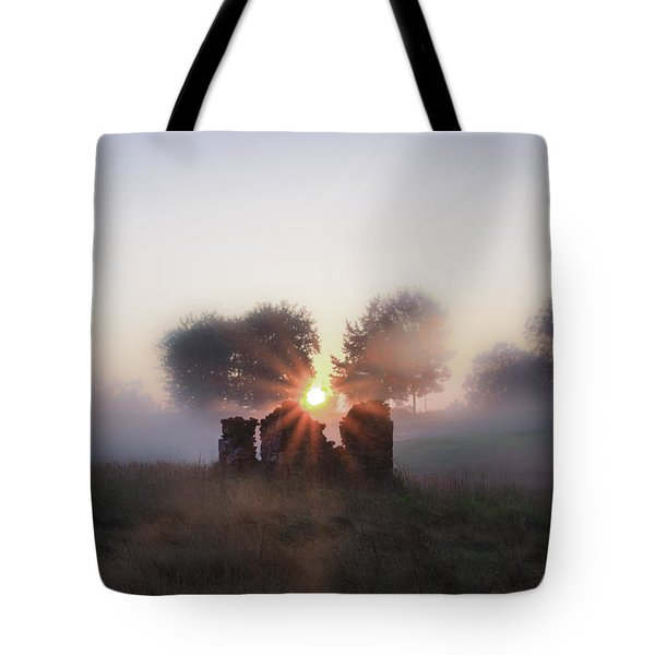 Philadelphia Cricket Club at Sunrise Tote Bag by Bill Cannon