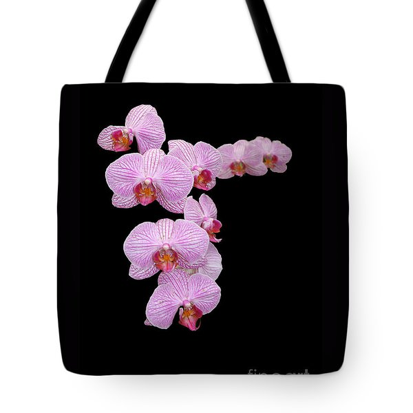 Pink Orchids Tote Bag by Tom Prendergast